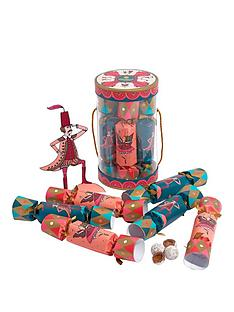 charbonnel-et-walker-christmasnbspcracker-set-of-3x-sea-salt-praline-and-3x-milk-sea-salt-truffles