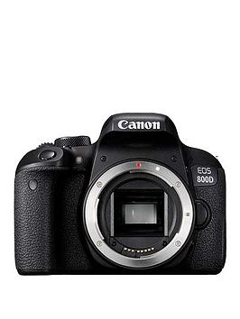 Canon Eos 800D Slr Camera Body Only - Black