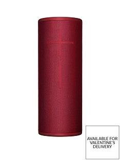 Ultimate Ears MEGABOOM 3 BluetoothSpeaker - Sunset Red