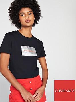 calvin-klein-jeans-institutional-box-metallic-logo-t-shirt-black