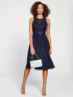 e1ed14f6b196 V by Very Bridesmaid Prom Dress - Navy