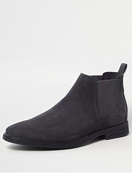 river-island-beppe-suede-chelsea-boot