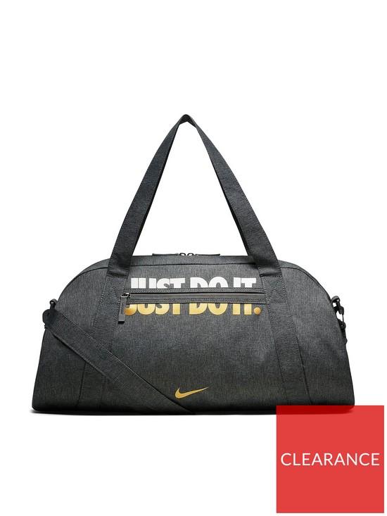 1a98adec2b Nike Metallic Gym Club Bag - Grey