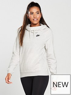 nike-sportswear-funnel-hoodienbsp--birch-heathernbsp