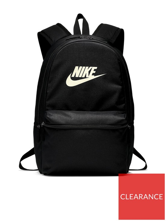 0a35695e50178 Nike Heritage Backpack - Black