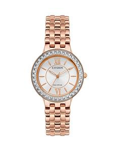 citizen-citizen-eco-drive-silhouette-crystal-rose-gold-stainless-steel-bracelet-ladies-watch