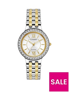 citizen-citizen-eco-drive-silhouette-crystal-two-tone-stainless-steel-bracelet-ladies-watch