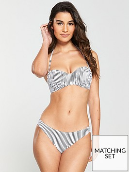 v-by-very-ruched-removable-straps-bandeau-bikini-set-stripe