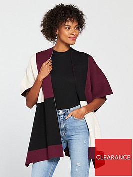 wallis-colour-block-wrap-berry-one-size