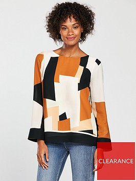 wallis-colourblock-top-ginger