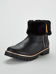 baker-by-ted-baker-girls-faux-fur-fold-over-boot