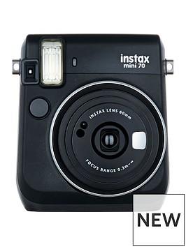 fujifilm-instax-mini-70-instant-cameranbspincluding-10-or-30-pack-of-paper-black