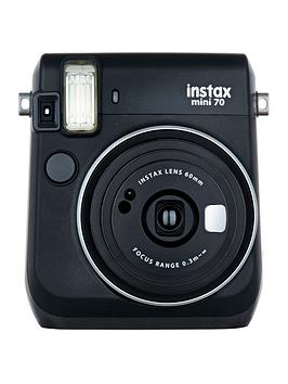 fujifilm-instax-mini-90-instant-cameranbspwith-optional-10-or-30-pack-of-paper-black