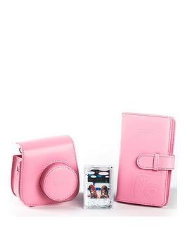 fujifilm-instax-instax-mini-9-accessory-kit-case-album-andnbspphoto-frame-flamingo-pink