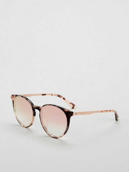 00bdc91b72584 McQ Alexander McQueen Havanna Oval Sunglasses - Brown