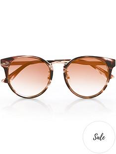 mcq-alexander-mcqueen-rounded-havana-sunglassesnbsp--brown