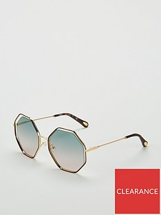 chloe-chloe-hexagonal-havanagreen-rose-sunglasses