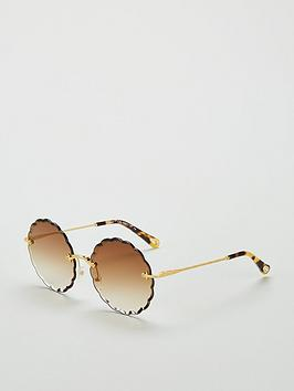 chloe-round-goldbrown-sunglasses
