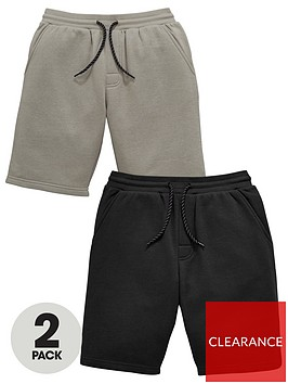 v-by-very-boys-2-pack-jog-shorts-with-piping-detail-detail