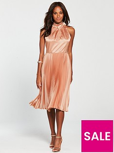 ted-baker-shineey-pleated-dress-dusky-pinknbsp
