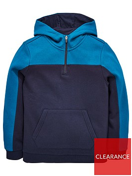 v-by-very-boys-cut-and-sew-quarter-zip-hoodienbsp--bluenavy