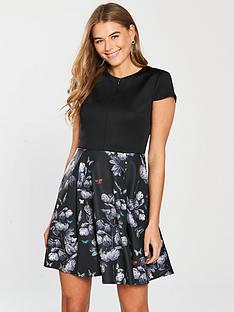 8350bff99 Ted Baker Narnia Skater Dress - Black