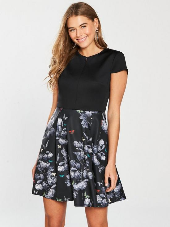 72d995c31 Ted Baker Narnia Skater Dress - Black