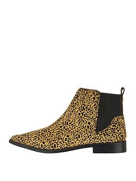 Accessorize Leopard Print Ankle Boot - Animal Print