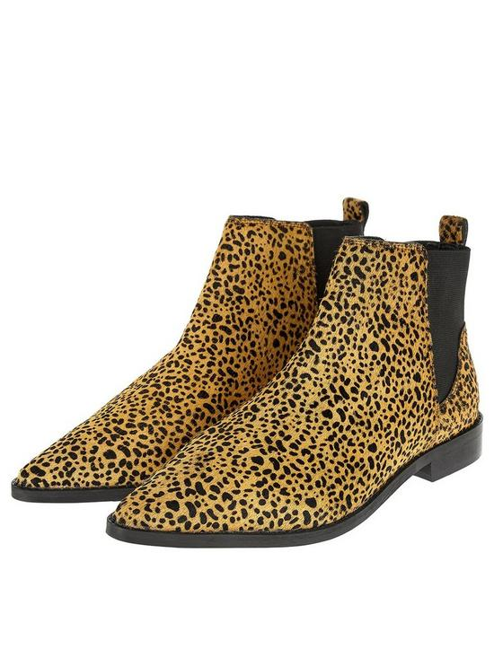 1e74dbedfcfa ... Accessorize Leopard Print Ankle Boot - Animal Print. View larger