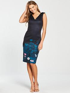 a937893da20edc Ted Baker Wonderland Bodycon Dress - Dark Blue