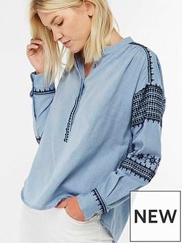 monsoon-dalia-embroidered-shirt-denim-blue
