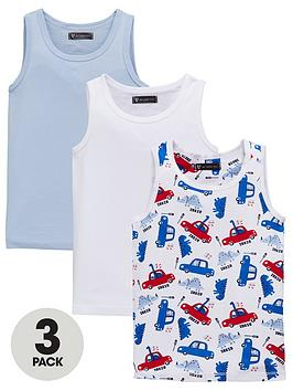 mini-v-by-very-boys-3-pack-plain-and-dino-car-print-vests-multi