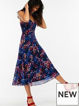 monsoon-phoebe-print-midi-dress-navy