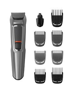 Philips Philips Series 3000 9-in-1 Multi Grooming Kit for Beard and Hair with Nose Trimmer Attachment - MG3722/33 Best Price, Cheapest Prices