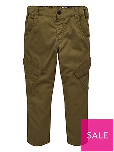 mini-v-by-very-boys-angled-pocket-cuff-cargo-trousers-khaki