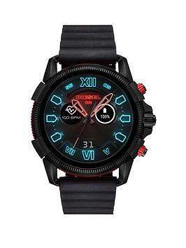 diesel-diesel-full-guard-25-black-and-red-display-black-leather-strap-mens-smart-watch