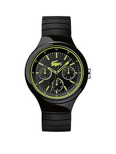 lacoste-lacoste-new-borneo-black-and-luminous-yellow-dial-black-silicone-strap-mens-watch