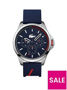 lacoste-lacoste-capbreton-blue-and-stainless-steel-dial-blue-fabric-strap-mens-watch