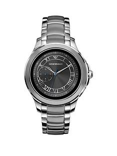 emporio-armani-full-display-grey-dial-stainless-steel-bracelet-mens-smart-watch