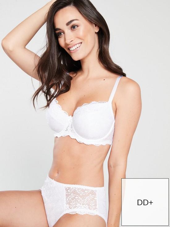 a286ed12f6ae4 DORINA Curves Philippa T-Shirt Bra - White