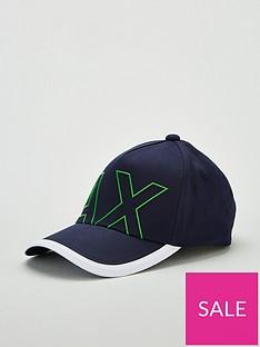 armani-exchange-logo-cap