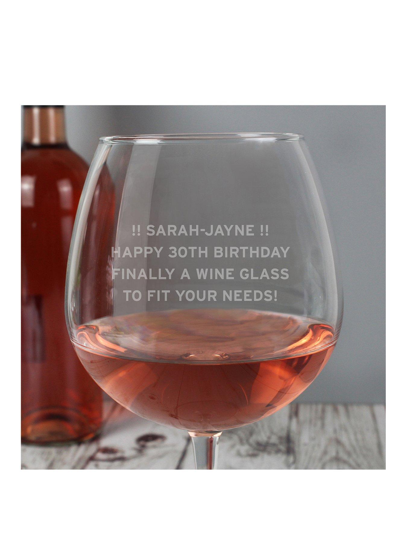 Balloon Gin Glass Peaky Blinders Birthday Personalised Glass Gift.220