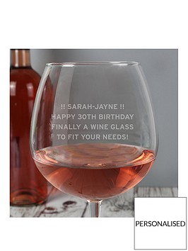personalised-large-wine-glass