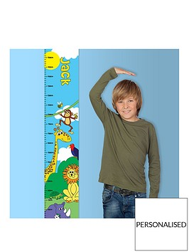 personalised-zoo-height-chart