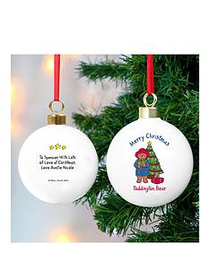 personalised-paddington-bauble