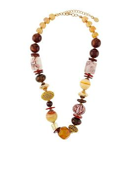 accessorize-megan-beaded-round-necklace