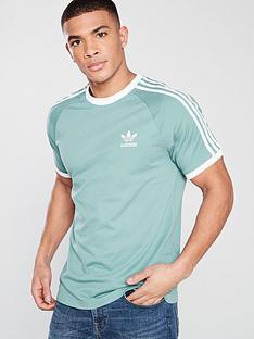 adidas-originals-3-stripe-t-shirt-green