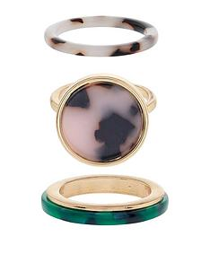 accessorize-pack-of-3-resin-rings-gold