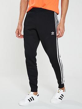 adidas-originals-3-stripe-pants-black