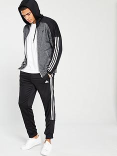 a66f4d38d3a1 adidas Game Time Tracksuit - Medium Grey Heather
